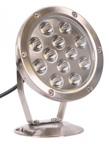 LED Spot 12W metall 12 st power lysdioder