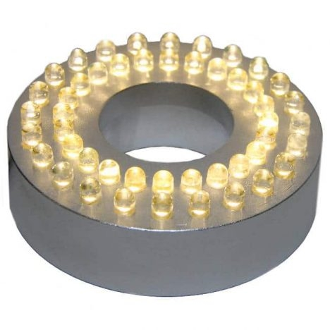 LED ring med 48 vita dioder